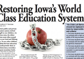 Open Letter to Iowa Educators