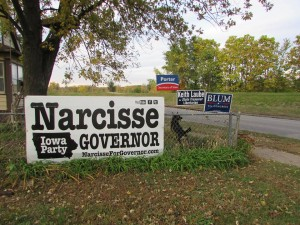 Narcisse Sign Linn County Iowa
