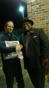 Jon Narcisse and Supporter Brandon in Polk County Iowa